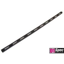 Szilikon összekötő, egyenes D1Spec Fekete 28mm 100cm